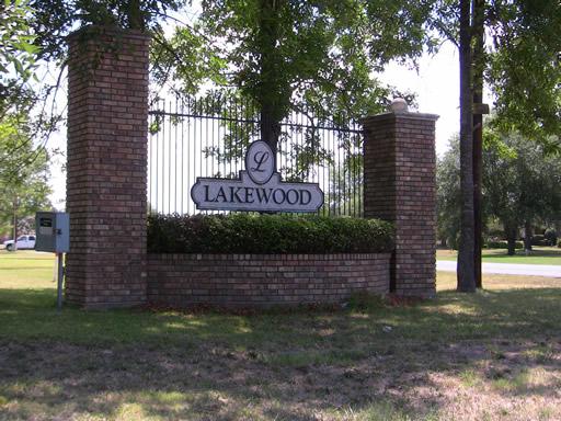 Lakewood Subdivision Neighborhood Bossier City La