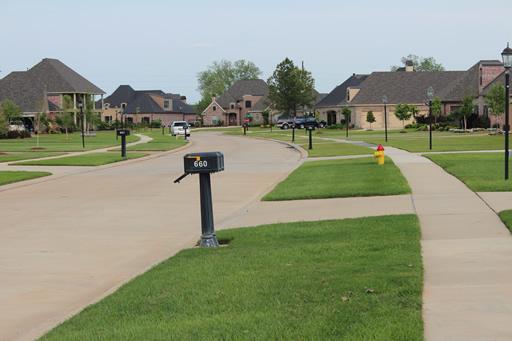 Twelve Oaks Subdivision Neighborhood Shreveport La